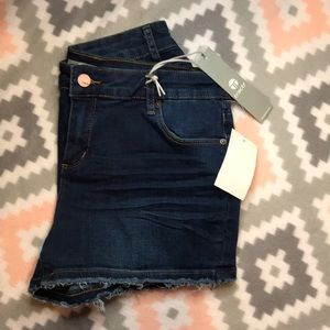 Tractr Indigo Jean Shorts 16 Juniors